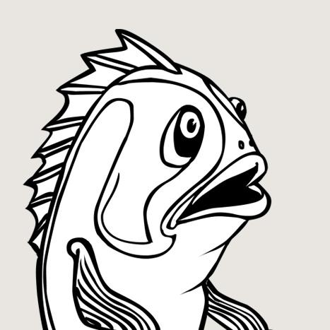 MR FISH ON A BIKE