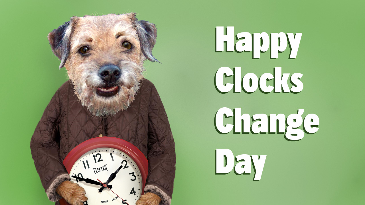 Happy Clocks Change Day
